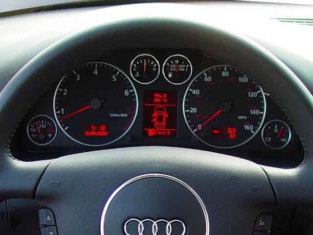 Audi TT dash repair