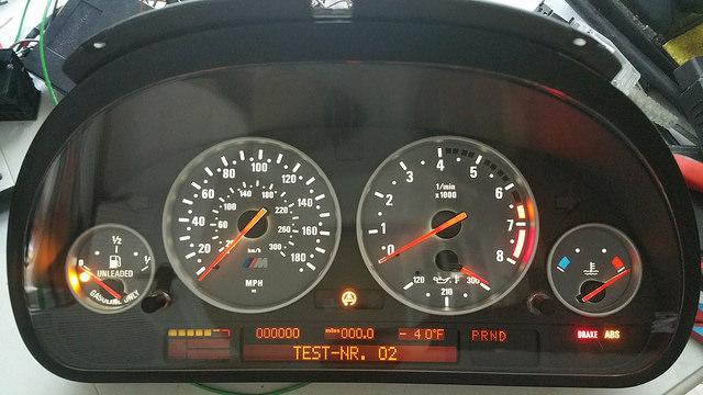 BMW speedometer repair